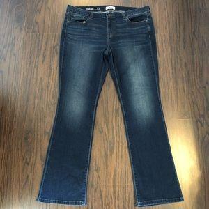 Sonoma jeans slim boot size 16 actual 37W 31L